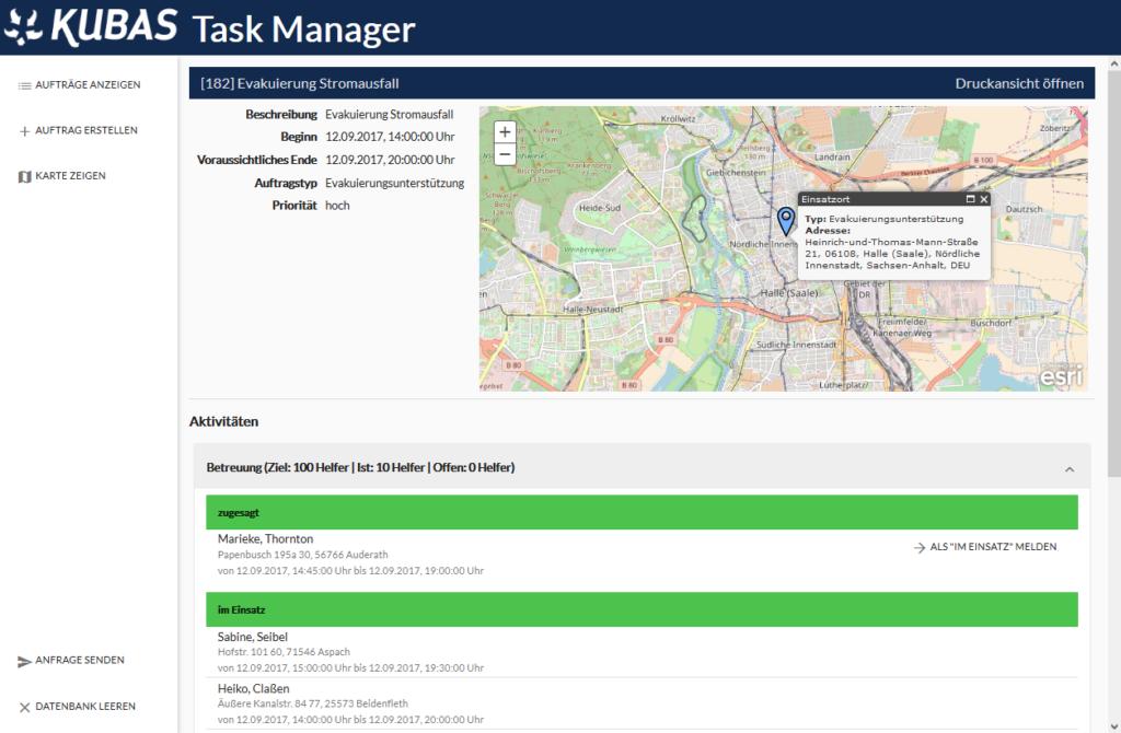 KUBAS Task Manager