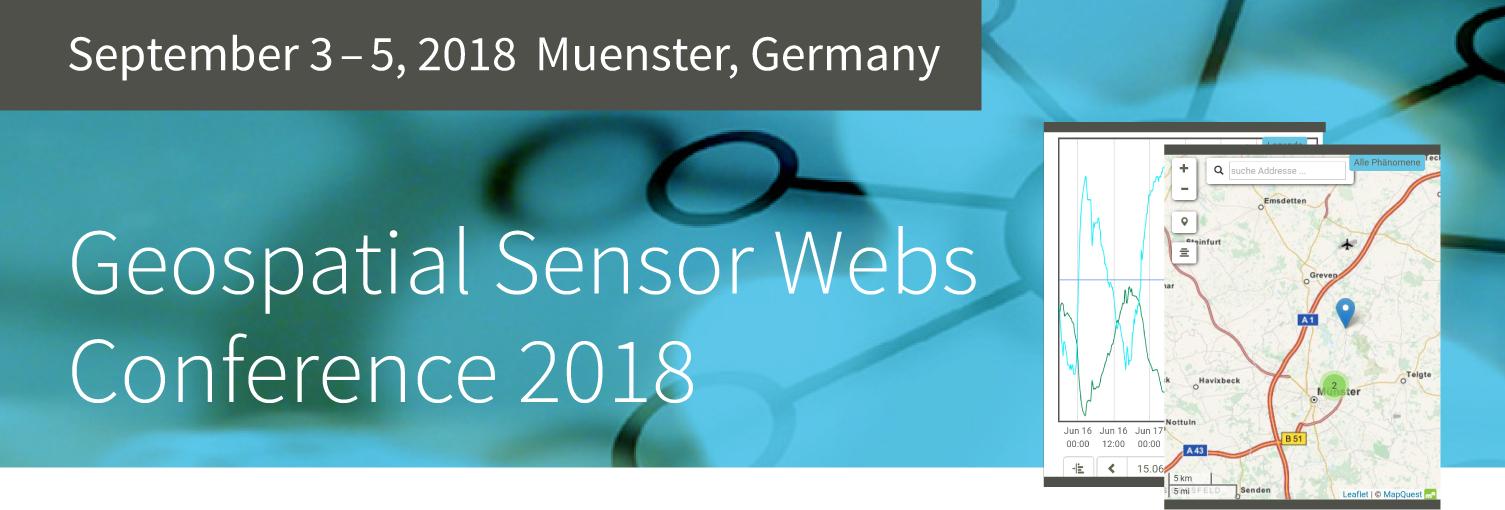 Geospatial Sensor Webs Conference 2018