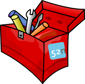 Red Toolbox with 52North logo