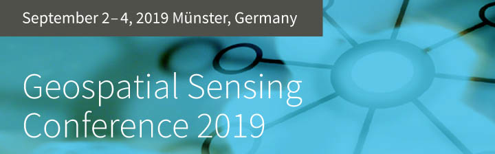 Geospatial Sensing 2019 – Call for Abstracts