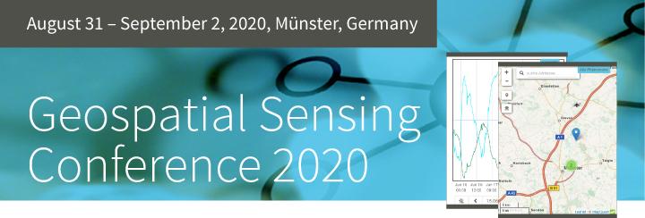 Geospatial Sensing Conference 2020