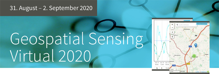 Geospatial Sensing Virtual 2020