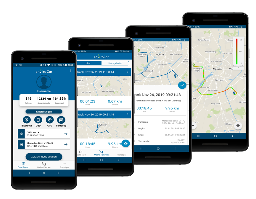 enviroCar Mobile Android App